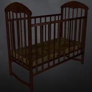 Lit de bébé 3d model