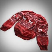Sweter skandynawski 3d model