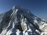 Landschap - Berg- en weersysteem 3d model
