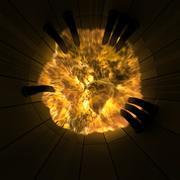 Esplosione del tunnel - Nessun plugin 3d model