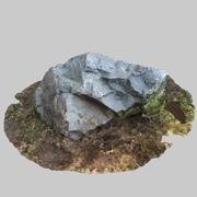 Rock Big 02 3d model