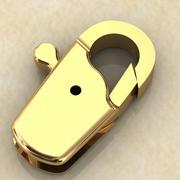 Lås för en kedja 3d model