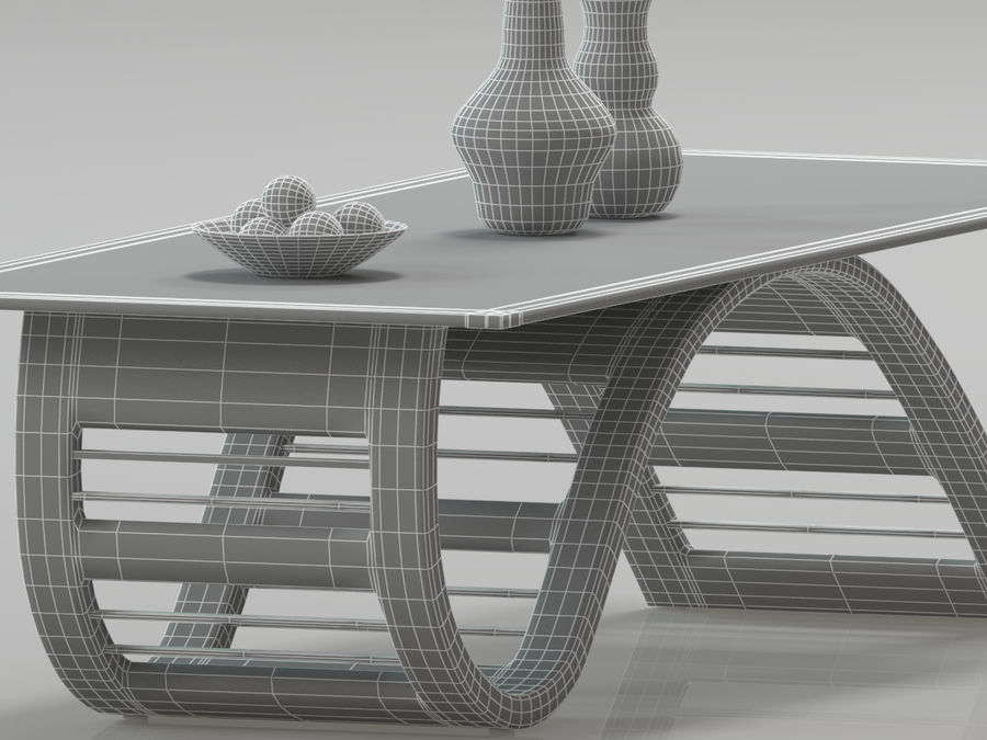 Center Table royalty-free 3d model - Preview no. 8