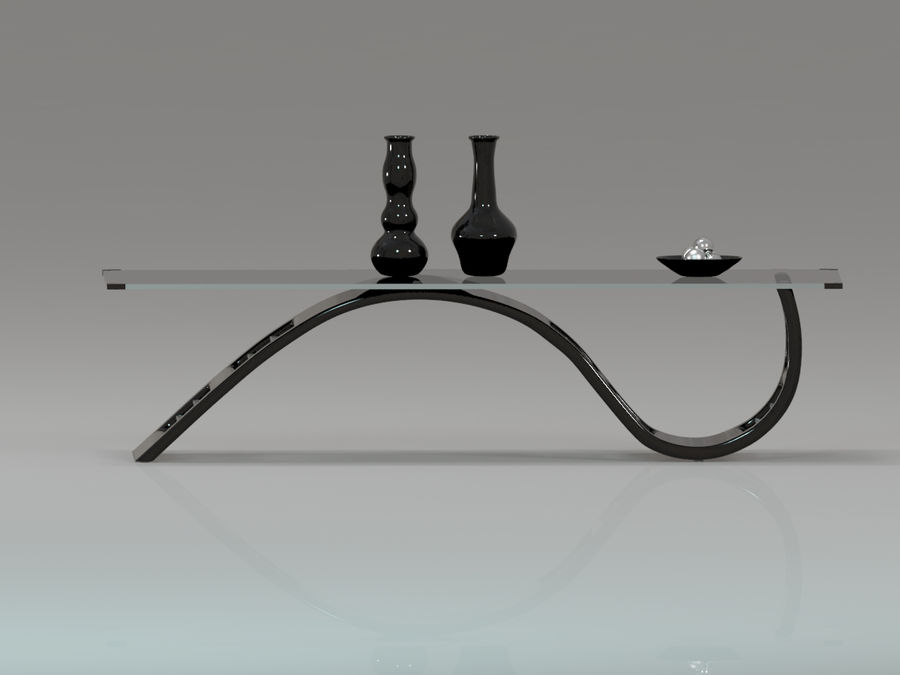 Center Table royalty-free 3d model - Preview no. 11