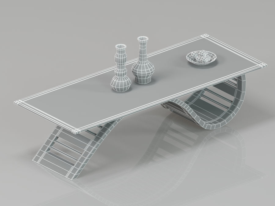 Center Table royalty-free 3d model - Preview no. 5