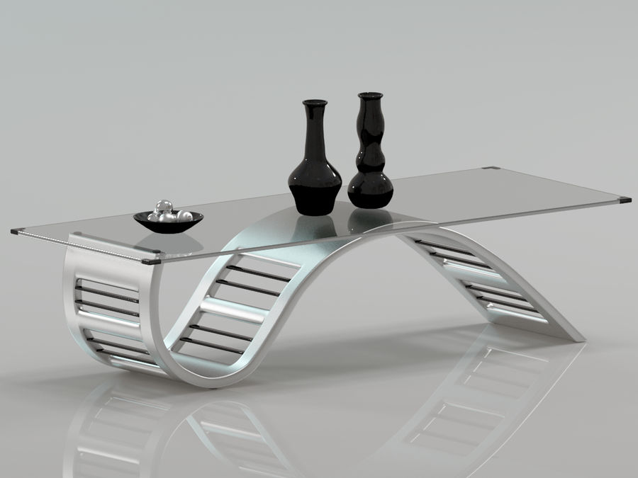 Center Table royalty-free 3d model - Preview no. 1