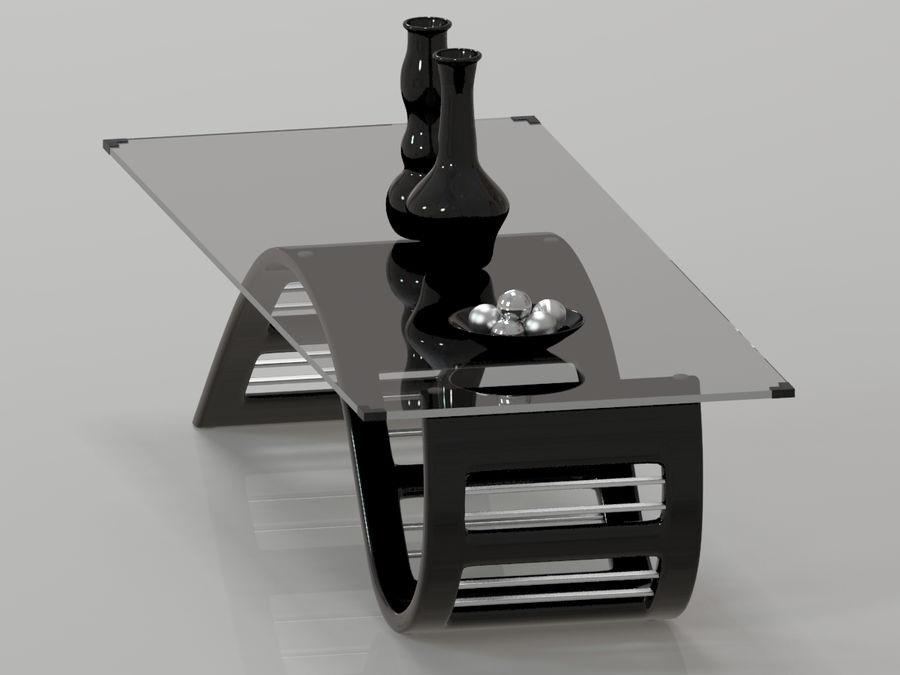 Center Table royalty-free 3d model - Preview no. 10
