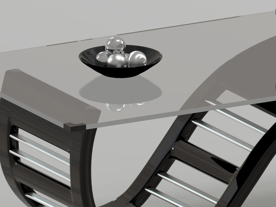 Center Table royalty-free 3d model - Preview no. 4