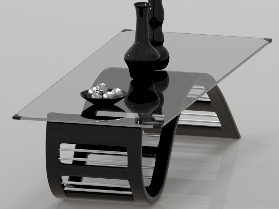 Center Table royalty-free 3d model - Preview no. 12