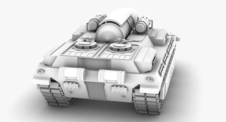 Koncepcja czołgu royalty-free 3d model - Preview no. 5