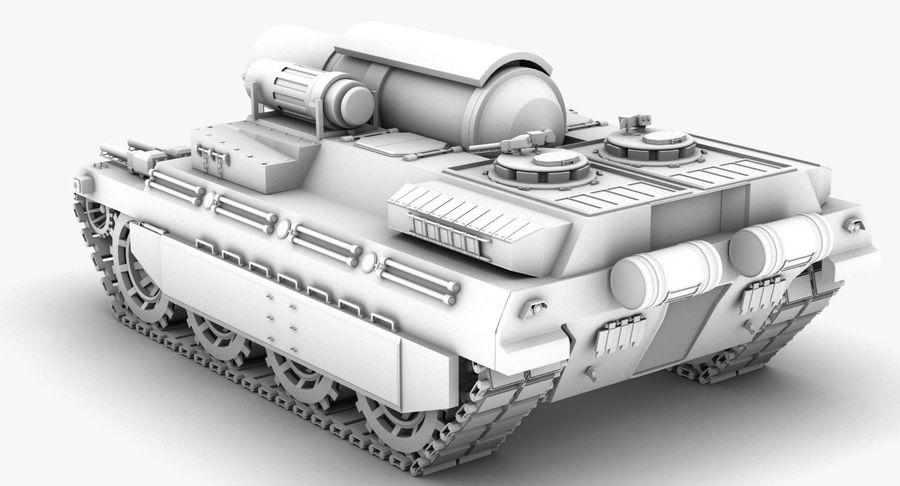 Koncepcja czołgu royalty-free 3d model - Preview no. 14