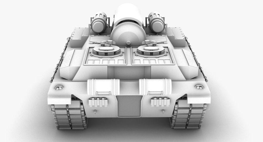 Koncepcja czołgu royalty-free 3d model - Preview no. 13