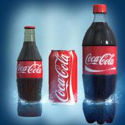 coke collection 3d model