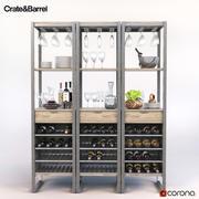 Torre del vino de cabina modelo 3d