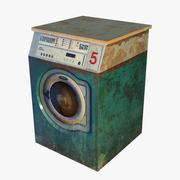 旧洗衣机 3d model