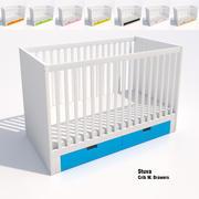 Ikea Stuva Crib 3d model