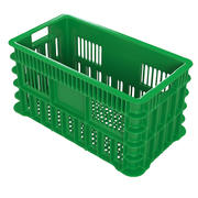 Green Plastic Crate 3d model