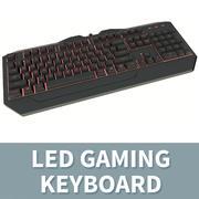 LED Gaming Keyboard - Red 3d model