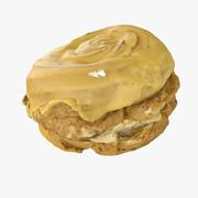 デザートケーキドーナツ 3d model