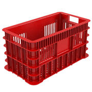 Plastic Fruit Crate 3d model