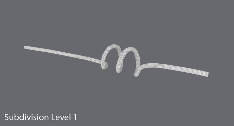 愚かなわら royalty-free 3d model - Preview no. 13