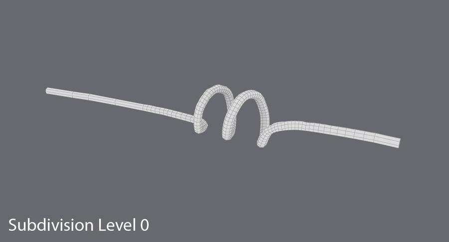 愚かなわら royalty-free 3d model - Preview no. 12