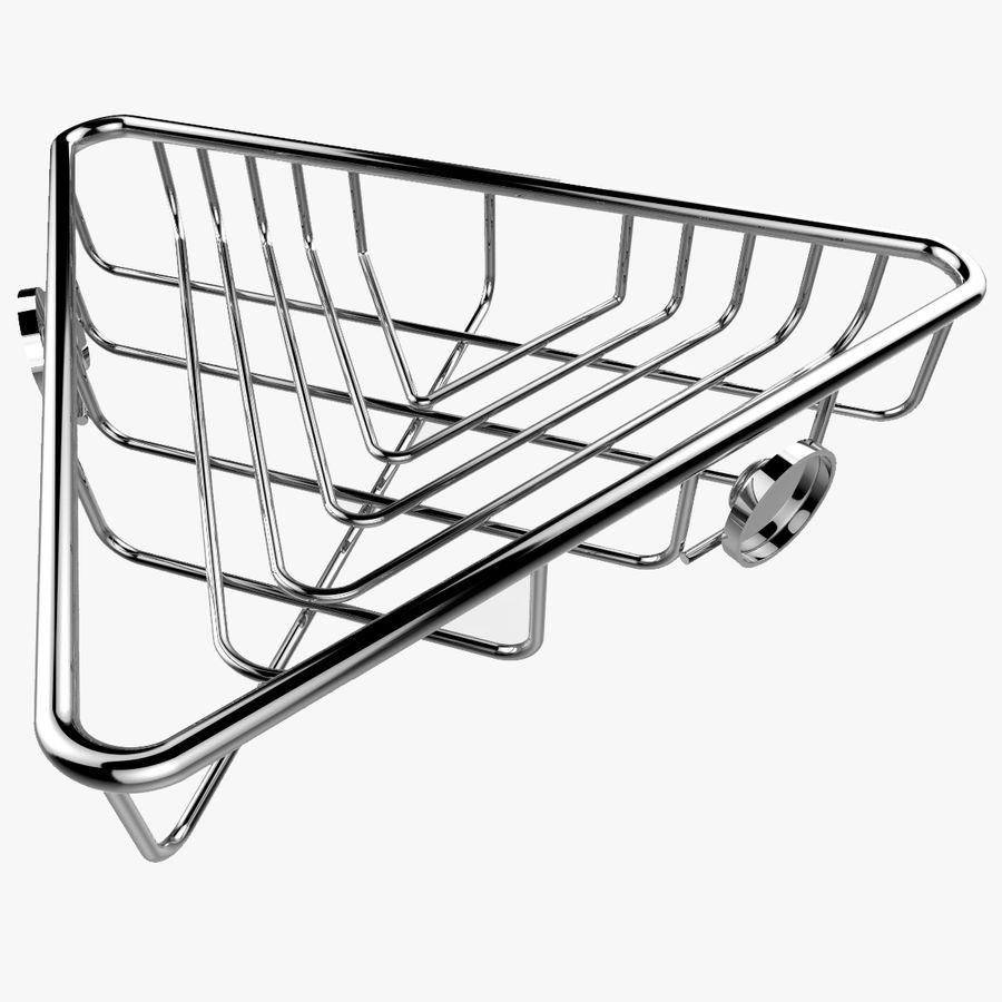 Półka narożna royalty-free 3d model - Preview no. 1