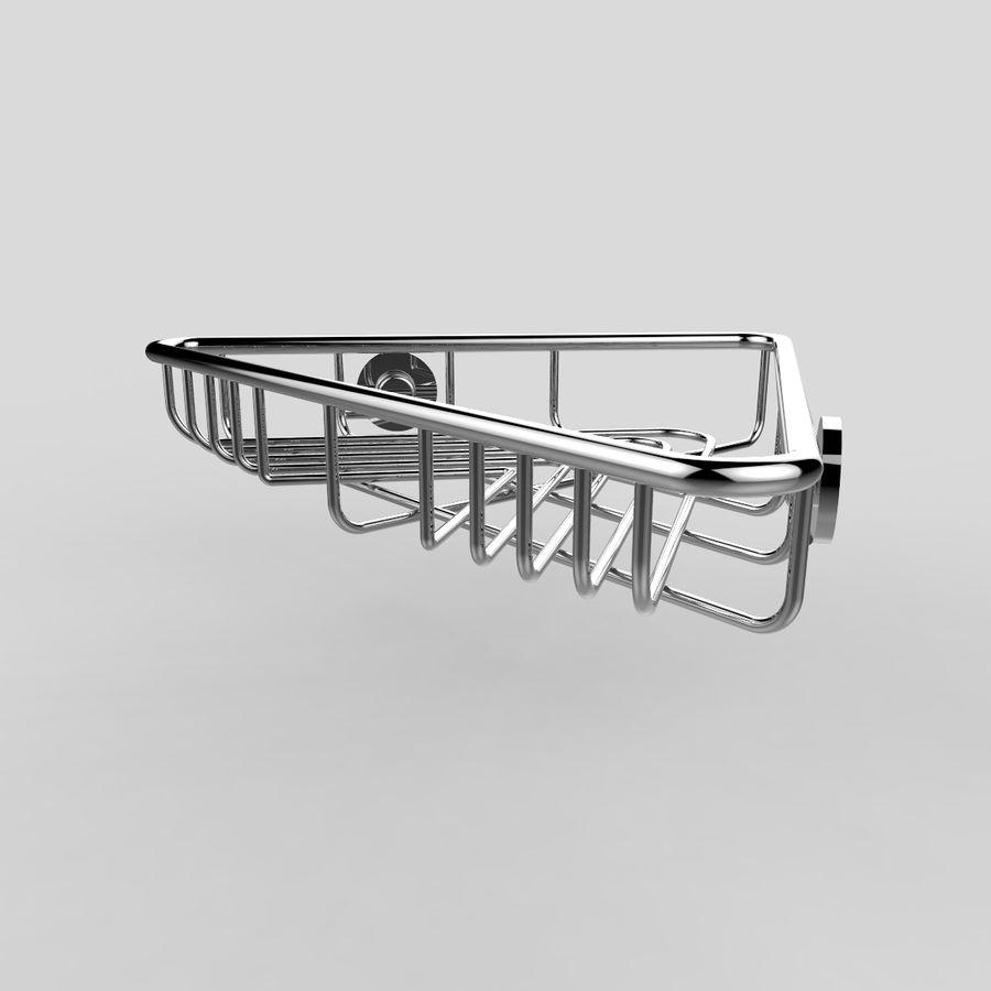 Półka narożna royalty-free 3d model - Preview no. 2