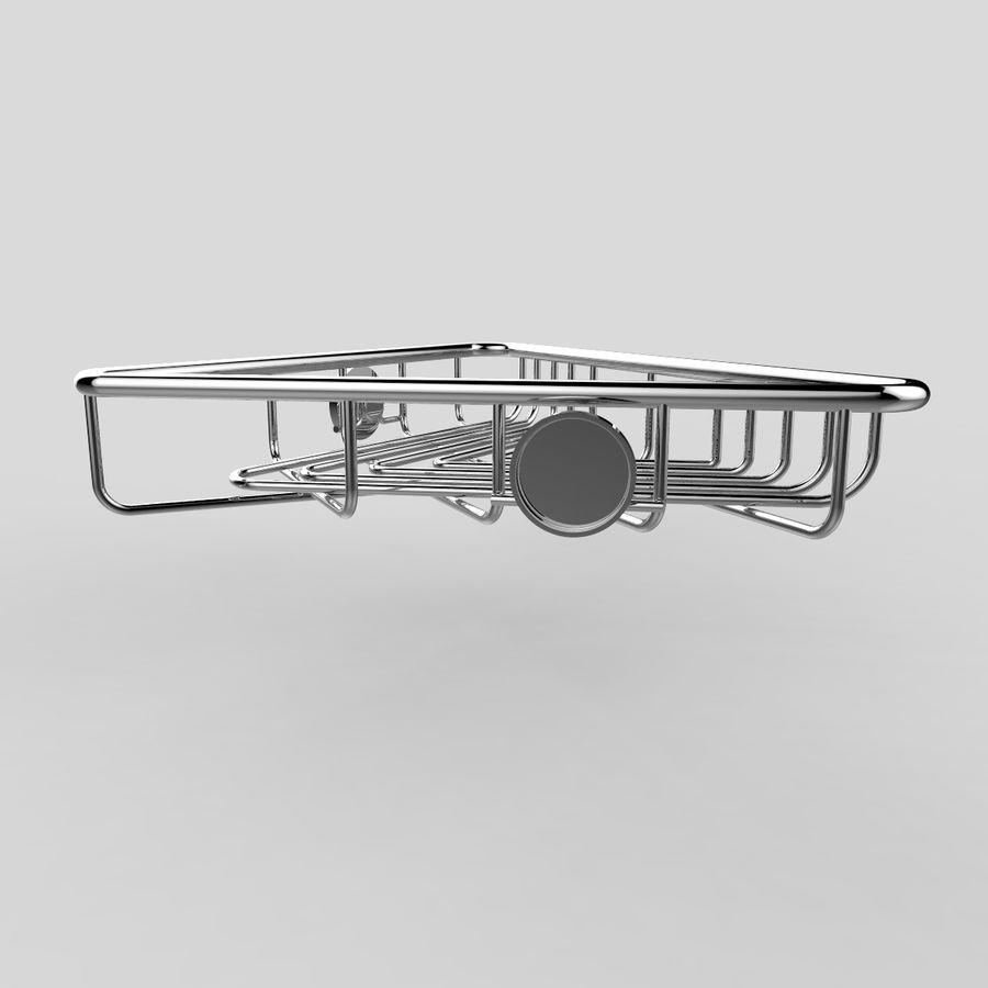 Półka narożna royalty-free 3d model - Preview no. 6