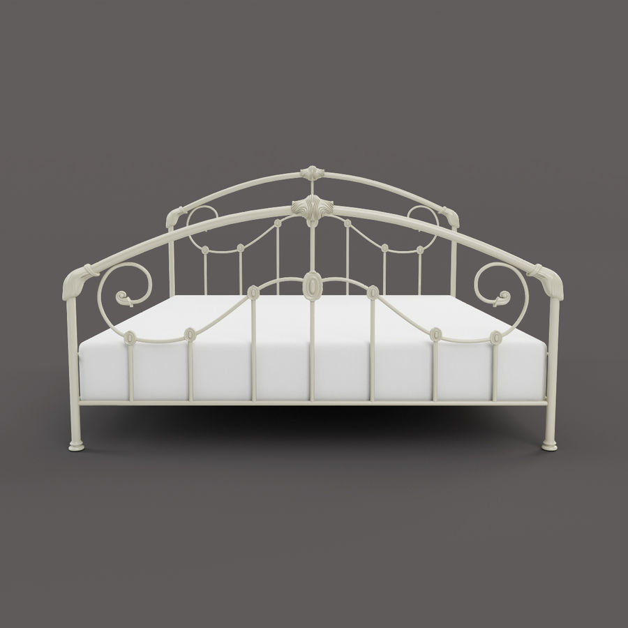 Mayfield Bed royalty-free 3d model - Preview no. 2