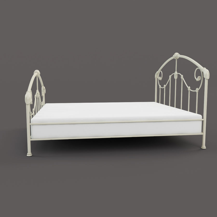 Mayfield Bed royalty-free 3d model - Preview no. 3