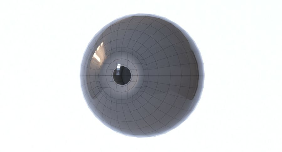Eyeball royalty-free 3d model - Preview no. 14
