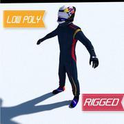 Kierowca Torro Rosso Formula 1 3d model