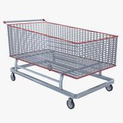 Cart Industrial 3d model