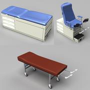Examination Tables 3d model