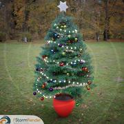 Árbol de navidad (1) modelo 3d