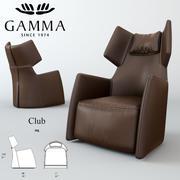 Гамма Клуб 3d model