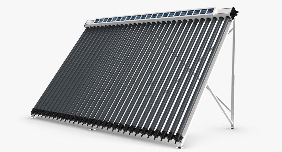 Chauffe-eau solaire royalty-free 3d model - Preview no. 5