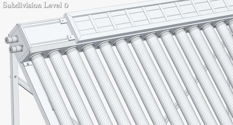 Chauffe-eau solaire royalty-free 3d model - Preview no. 10