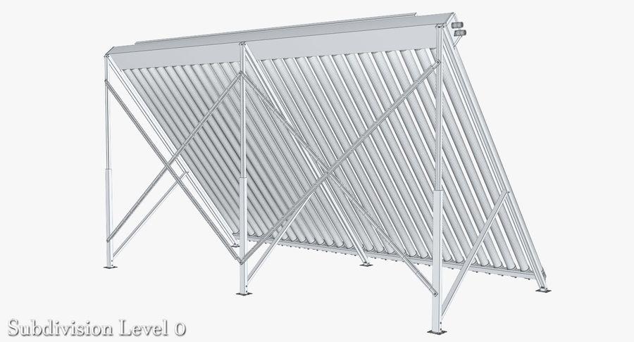 Chauffe-eau solaire royalty-free 3d model - Preview no. 8