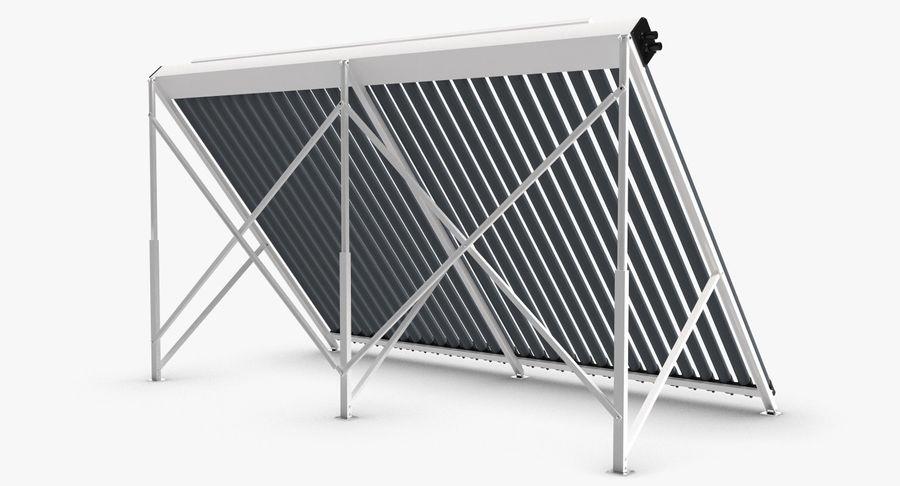 Chauffe-eau solaire royalty-free 3d model - Preview no. 4
