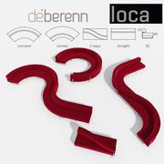 Sofa Loca Deberenn 3d model