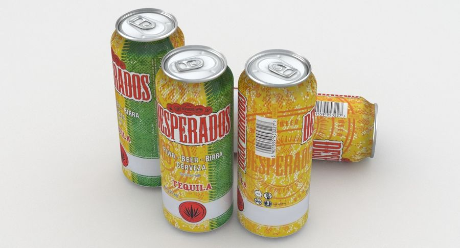 Beer Can Desperados 500ml 3d Model 19 Max Free3d