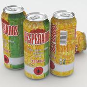 Beer Can Desperados 500ml 3d model