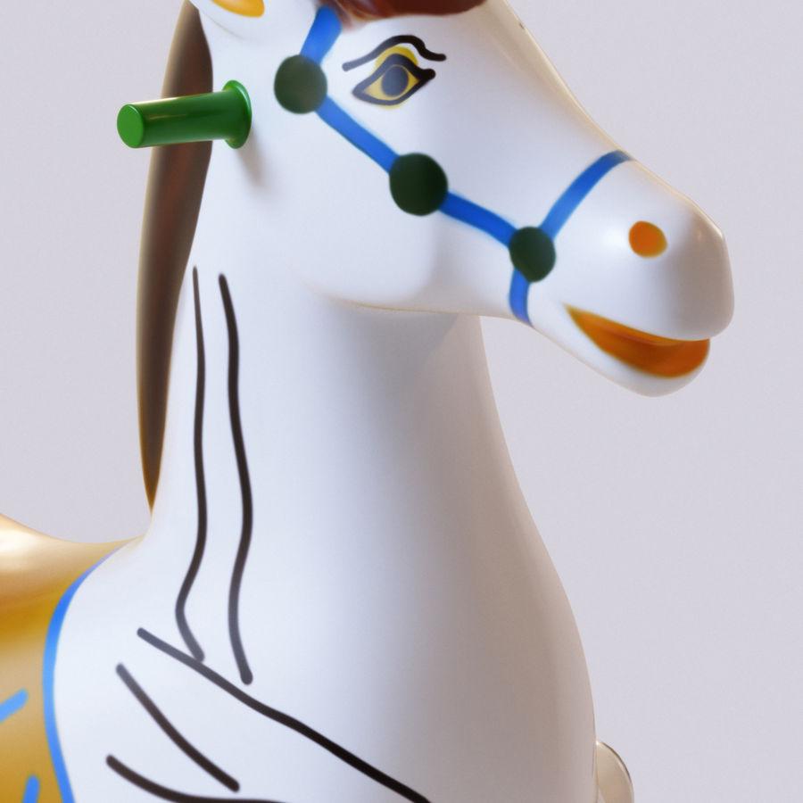 Parkera hästmaskin royalty-free 3d model - Preview no. 2