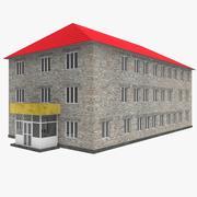 Bâtiment scolaire 3d model