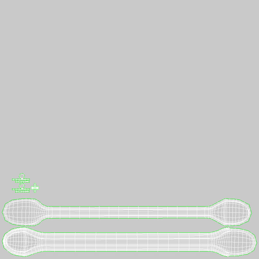 Coffee Stirrer royalty-free 3d model - Preview no. 18