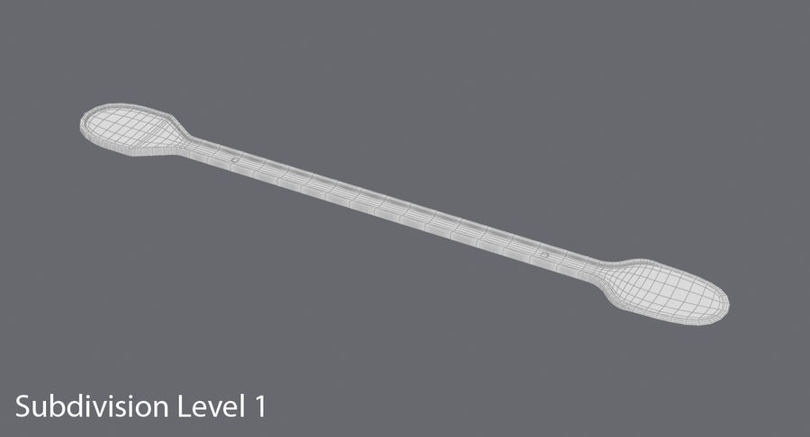 Coffee Stirrer royalty-free 3d model - Preview no. 17