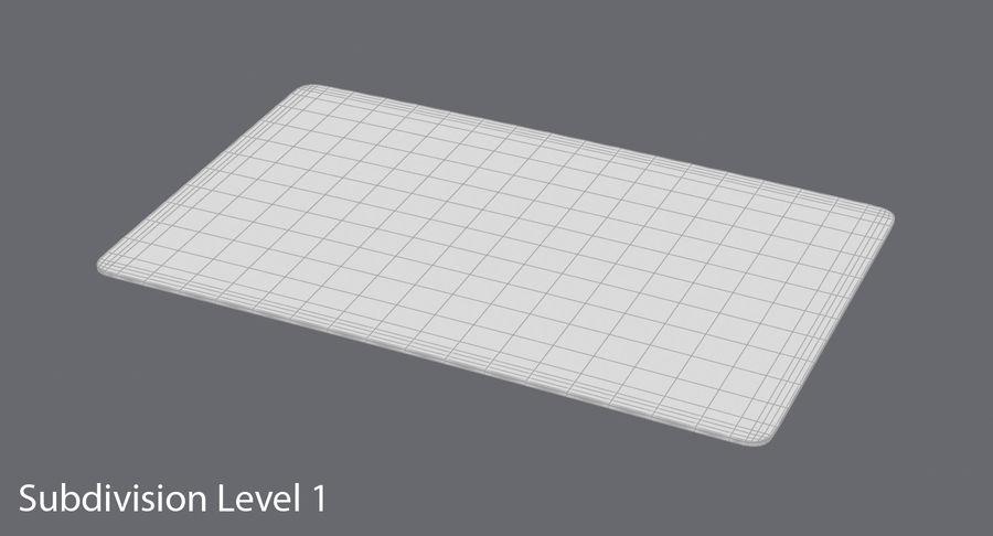 Karta debetowa 01 royalty-free 3d model - Preview no. 15