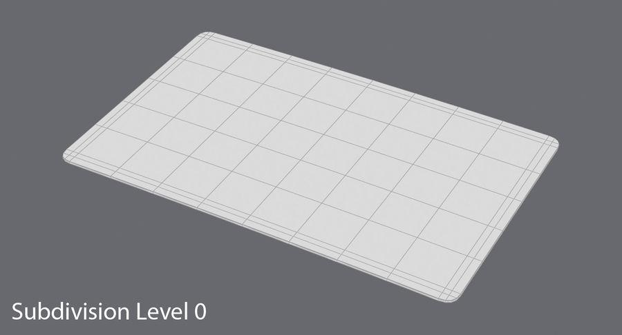 Karta debetowa 01 royalty-free 3d model - Preview no. 14